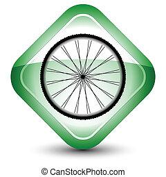 hjul, ikon