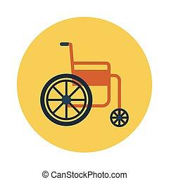 hjul stol