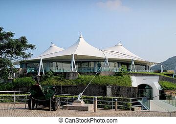 hk, museo, defensa, costero