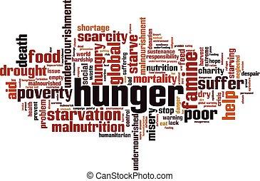 hlad, vzkaz, mračno