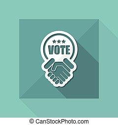 hlasovat, dohoda