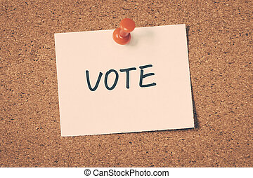 hlasovat