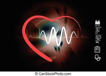 hlavní, heart zdravotní stav