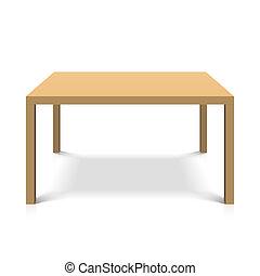 hloupý poloit na stůl