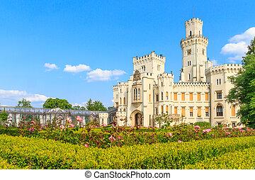 Hluboka nad Vltavou (in German Frauenberg) palace, Czech Republic