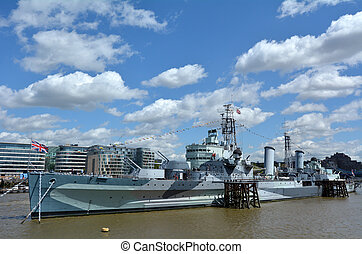 HMS Belfast (C35) London - England United Kingdom
