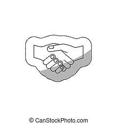 Hnadshake business symbol