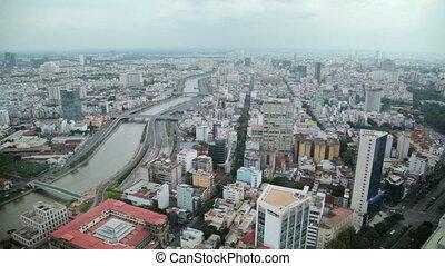 Ho Chi Minh City, Saigon downtown, Vietnam