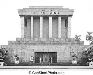 Ho Chi Minh mausoleum, Ha Noi, Vietnam