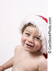 Ho Ho Ho - Gorgeous boy in santa hat
