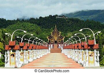 Ho kham luang northern thailand