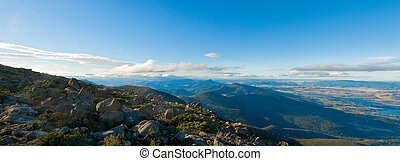 Hobart Tasmania Mount Wellington - Top of Mount Wellington,...