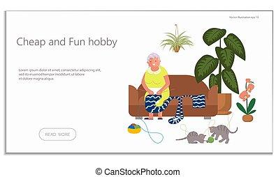 hobby, floriculture, website, breiwerk