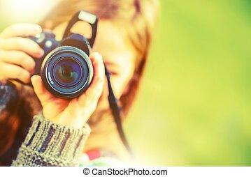 hobby, fotografie