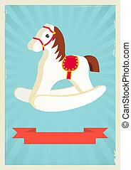 Hobby horse background