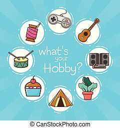 hobby, mój, powinowaty