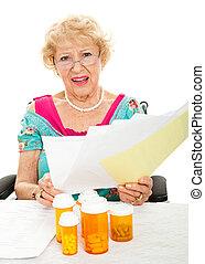 hoch, kosten, von, verordnung betäubt, und, medizinische behandlung