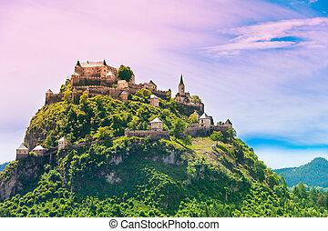 Hochosterwitz castle mountain in Austria - Hochosterwitz...