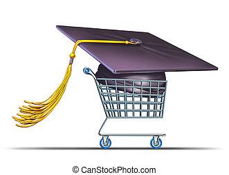 hochschule, universität, shoppen