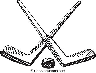 hockey clipart and stock illustrations 16 717 hockey vector eps rh canstockphoto com clipart hockey symbols clipart hockey stick black and white