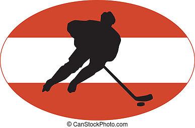 Hockey colors of Austria