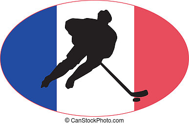 Hockey colors of France