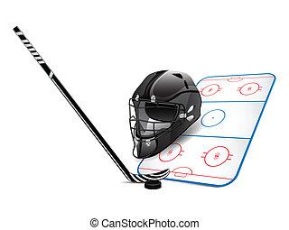 Hockey design elements