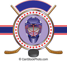 Hockey Design Template Banner