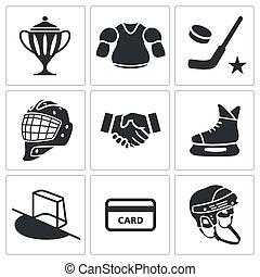 Hockey icon collection