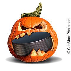 Hockey In Autumn
