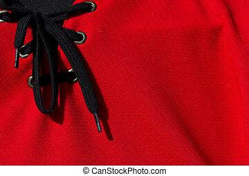 Hockey jersey - Red hockey jersey background