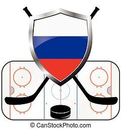 hockey logo- russia
