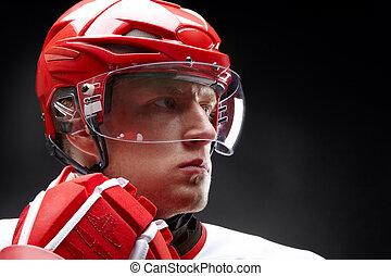 hockey-player