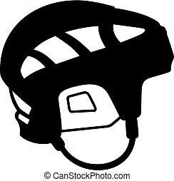 Hockey resistance helmet