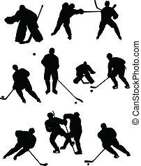 hockey, samling
