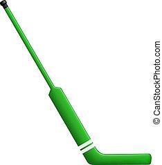 Hockey stick for goalie