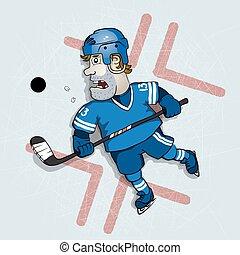 Hockey vector illustration