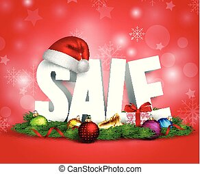hoedje, bevordering, 3d, kerst decoraties, tekst, verkoop
