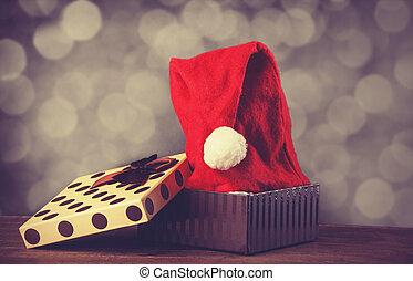 hoedje, kerstkado