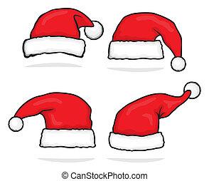 hoedje, kerstman, verzameling
