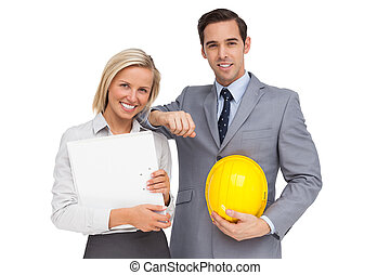 hoedje, plannen, hard, architecten