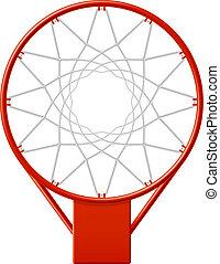 hoepel, basketbal