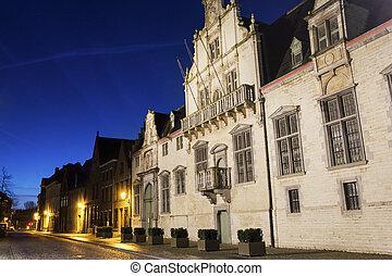 Palace of margaret of york in mechelen, belgium  Palace of