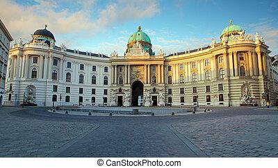 Hofburg in Vienna, Austria