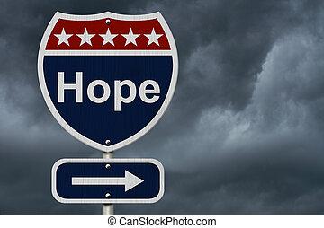 hoffnung, zeichen