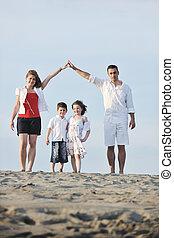 hogar, actuación, playa, familia , señal
