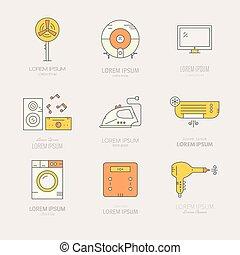 hogar, aparatos