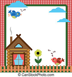 hogar, marco, -background