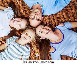 hogar, niños, padres
