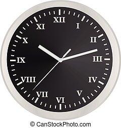 hogar, reloj análogo